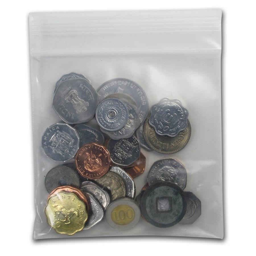 Mixed World Set 38-Odd Shaped Coins