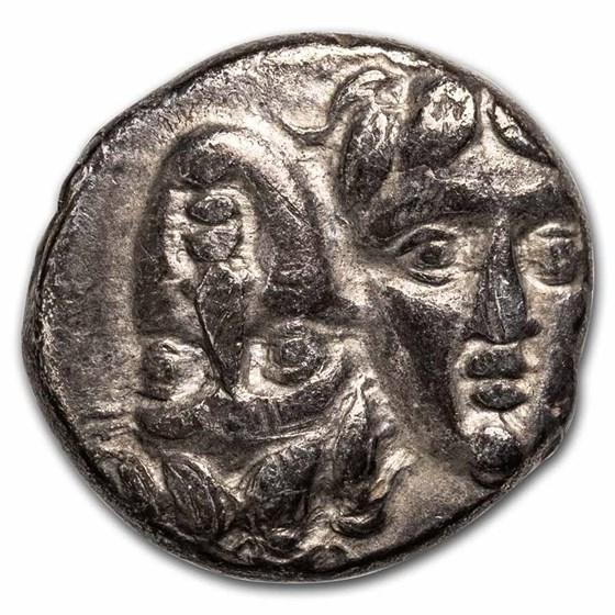 Moesia, Istrus Silver Drachm (4th century BC) VF
