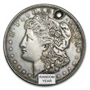 Morgan &/or Peace Silver Dollar Worse than Cull (Random Year)