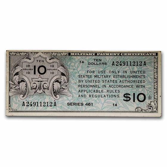 MPC Series 461 $10 AU
