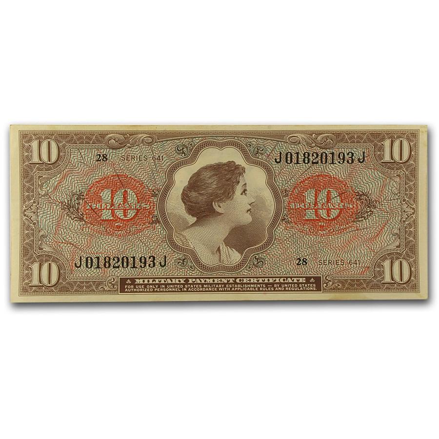 MPC Series 641 $10 CU