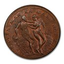 (ND) Middlesex Spence's Farthing Conder Token MS-64 PCGS (BN)