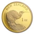 New Zealand 1 oz Gold Kiwi .9999 (No Assay)