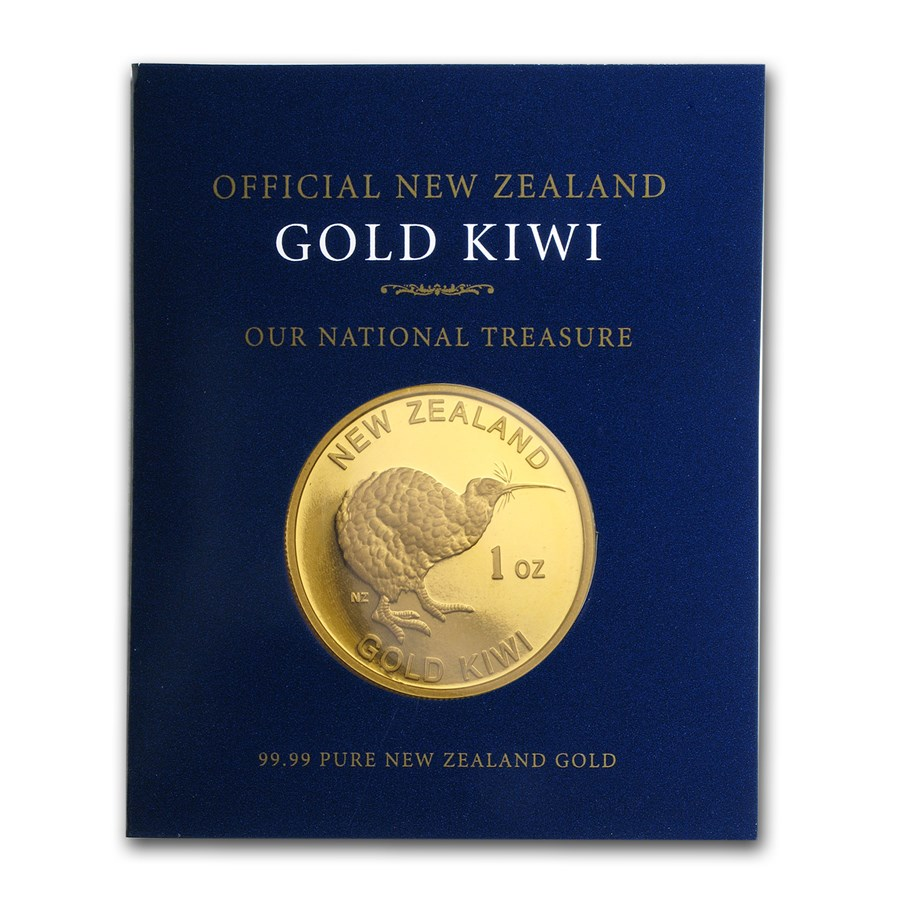 New Zealand 1 oz Gold Kiwi .9999