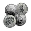 Niue 1 oz Silver $2 Disney BU (Random, Abrasions)