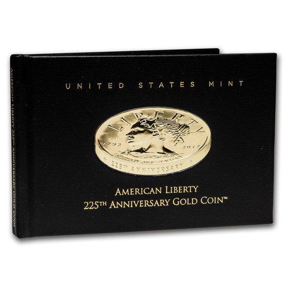 OGP - 2017 Liberty 225th Anniversary Gold Coin Book