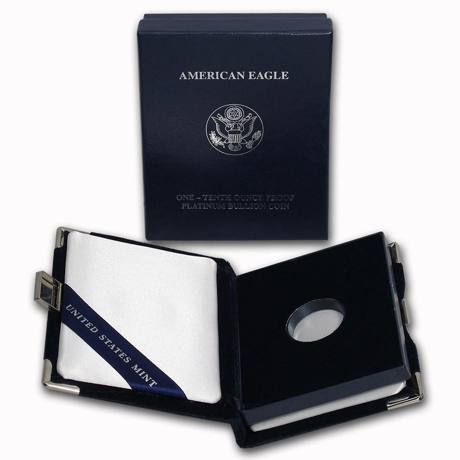 OGP Box - 1/10 oz Platinum Eagle Proof Coin (2003-2008)