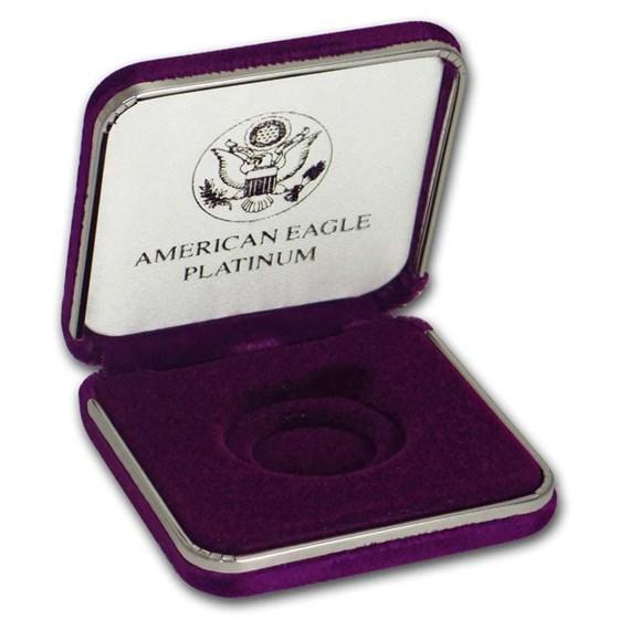 OGP Box - 1 oz Platinum American Eagle (Vintage, Empty)