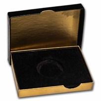 OGP Box & COA - 1 oz Gold Commemorative Arts Medal Mark Twain