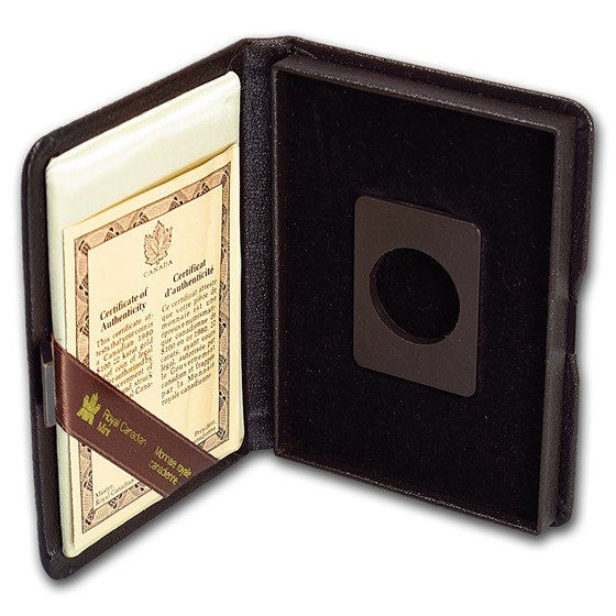 OGP Box & COA - 1980 1/2 oz Proof Gold Canadian Maple Leaf