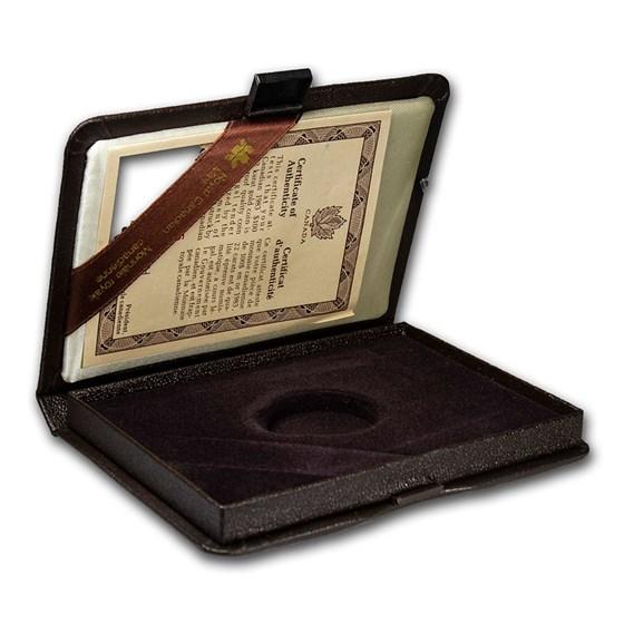 OGP Box & COA-1983 Canada 1/2 oz Gold $100 Newfoundland (Empty)