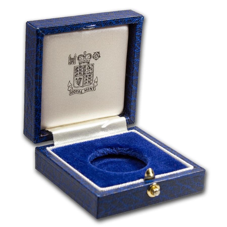 OGP Box & COA - 1984 Great Britain Gold 1/2 Sovereign PF (Empty)