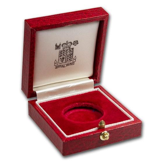 OGP Box & COA - 1984 Great Britain Gold Sovereign PF (Empty)