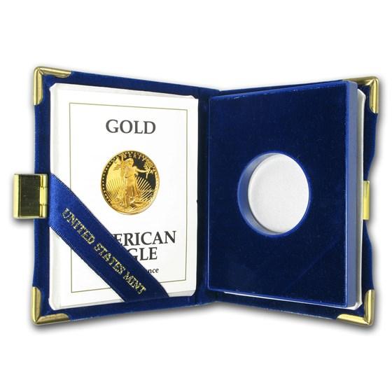 OGP Box & COA - 1991 1/2 oz Proof Gold American Eagle