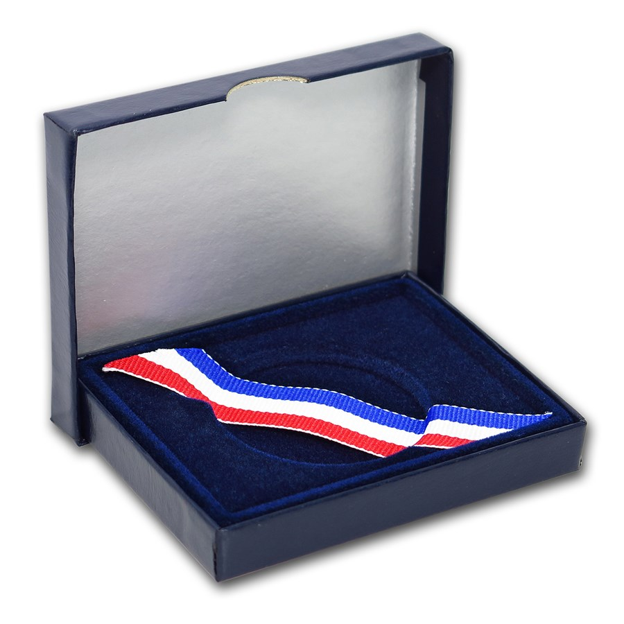 OGP Box & COA - 1997-P Law Enforcement $1 Silver BU