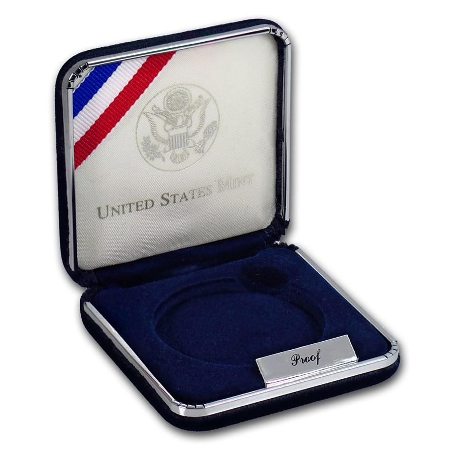 OGP Box & COA - 1997-P Law Enforcement $1 Silver Proof