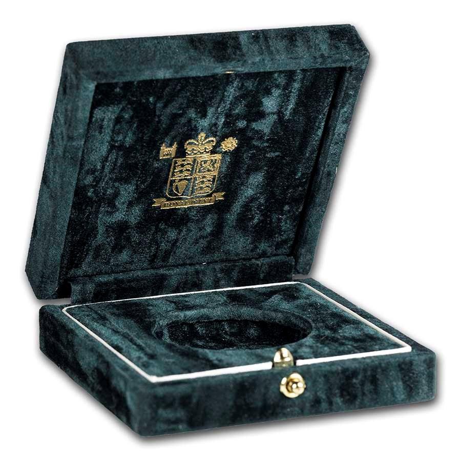 OGP Box & COA - 2000 Great Britain Gold £5 BU (Empty)