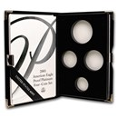 OGP Box & COA - 2000 Proof 4-Coin Platinum Eagle Set (Empty)