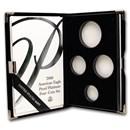 OGP Box & COA - 2001 1 oz Platinum Eagle PF 4-Coin Set (Empty)