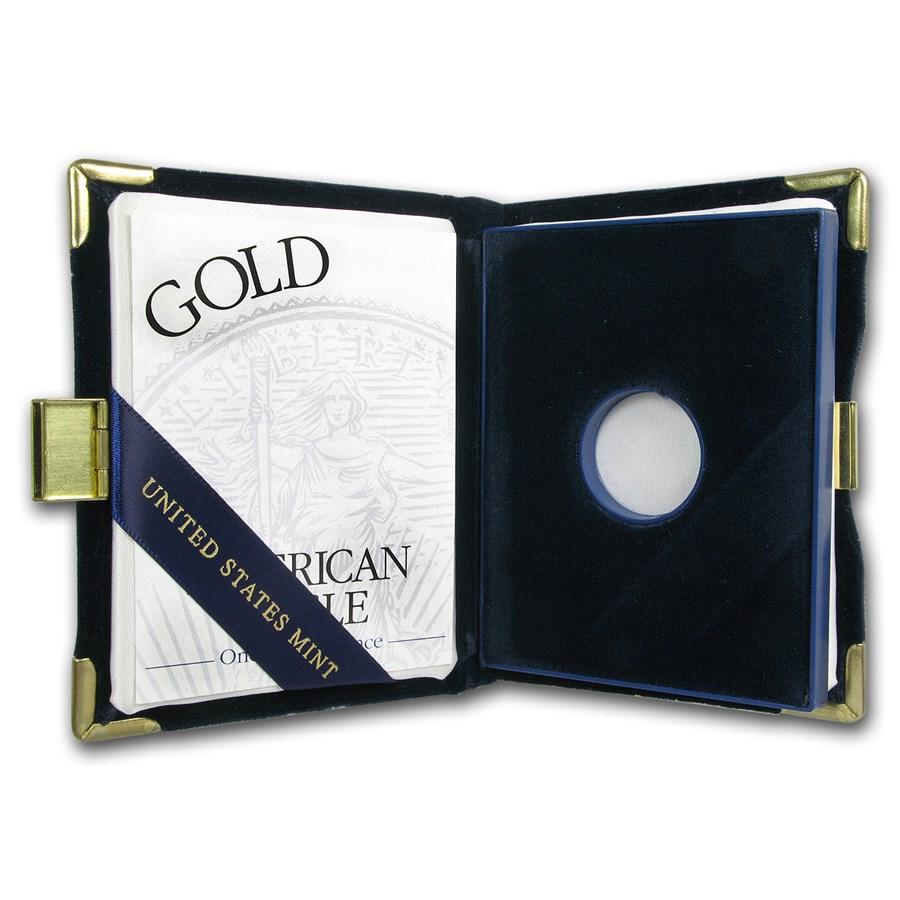OGP Box & COA - 2002 1/10 oz Proof Gold American Eagle
