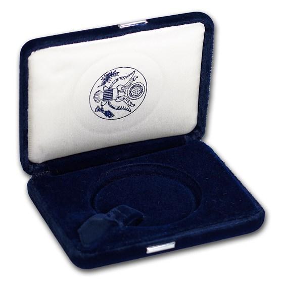 OGP Box & COA - 2002 Silver American Eagle Proof