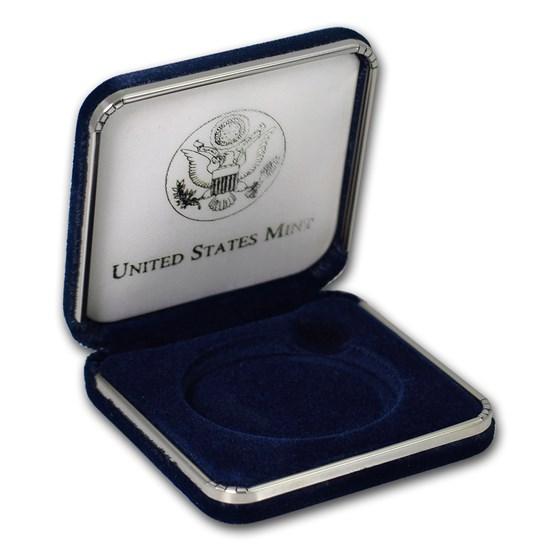 OGP Box & COA - 2003 National Wildlife Refuge System Medal Proof