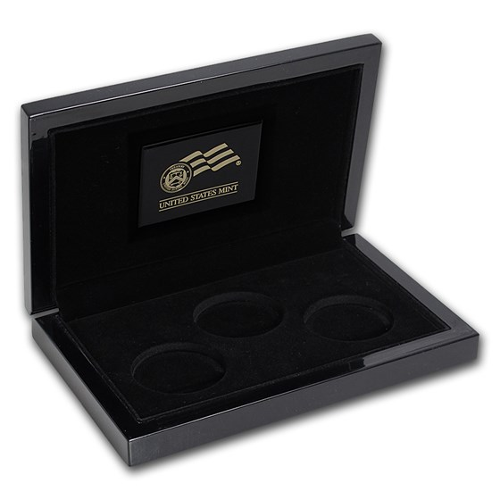 OGP Box & COA - 2006 20th Anniversary 3-Coin Gold Eagle Set