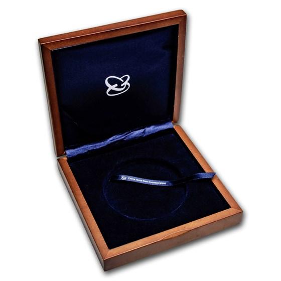 OGP Box & COA - 2006 China 5 oz Silver Panda Proof (Empty)