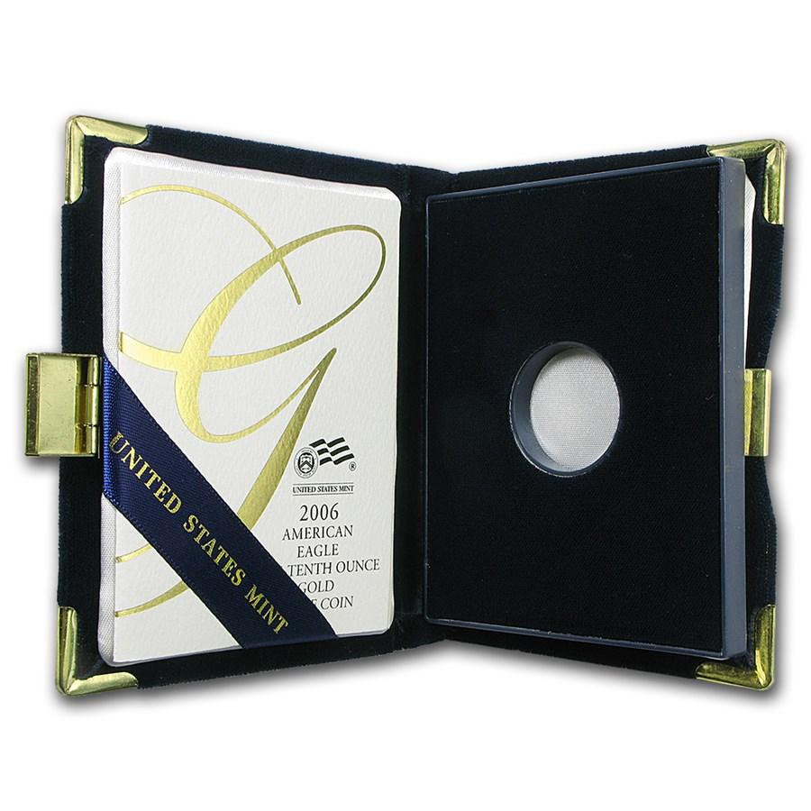 OGP Box & COA - 2006 (W) 1/10 oz Proof Gold American Eagle