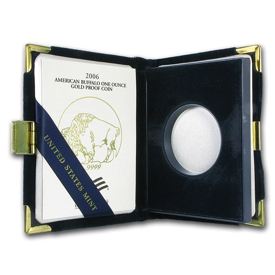 OGP Box & COA - 2006-W Proof 1 oz Gold Buffalo