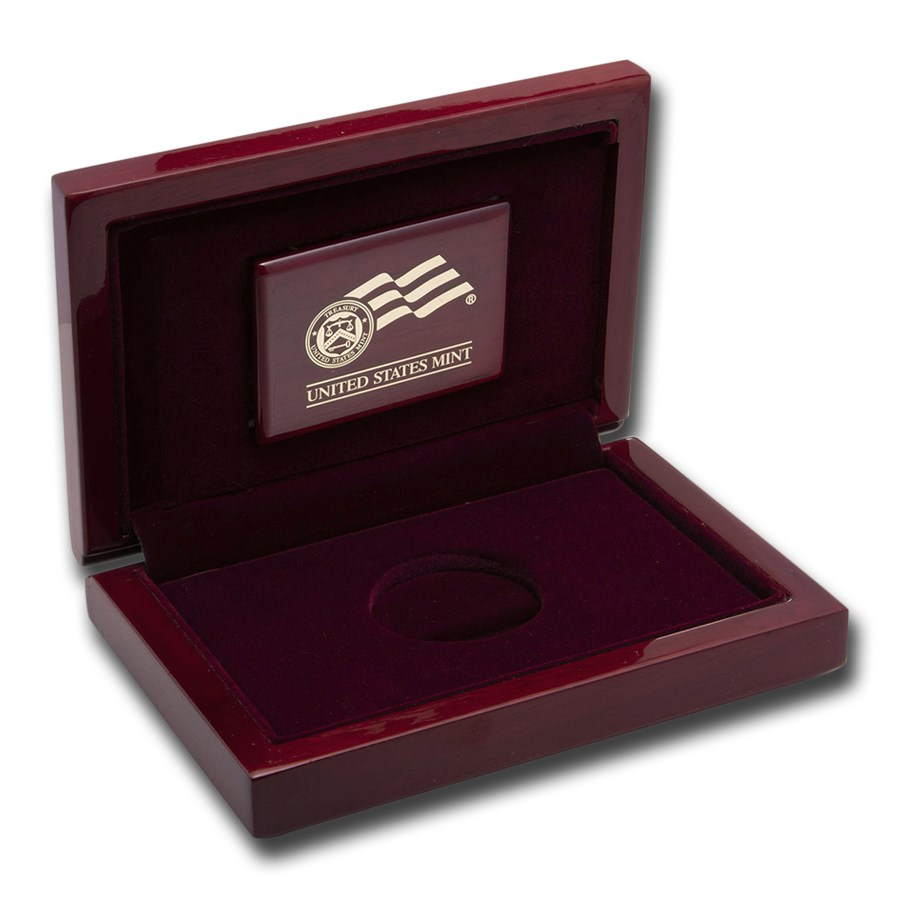 OGP Box & COA -2007 First Spouse Abigail Adams PF Gold (Empty)