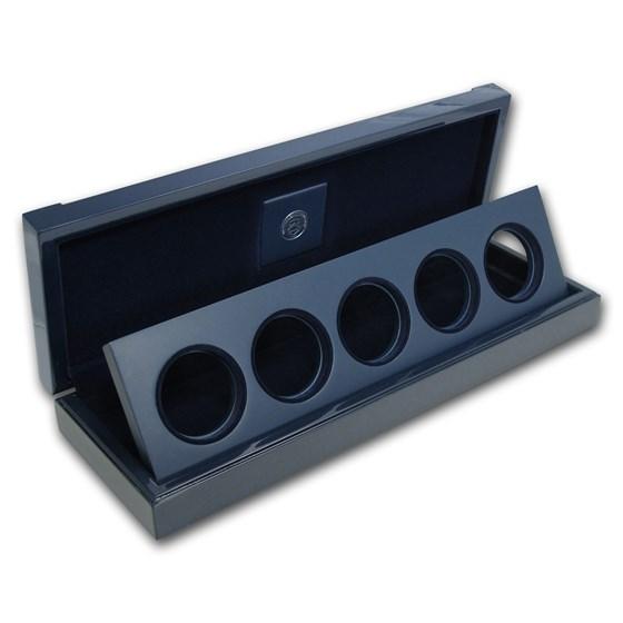 OGP Box & COA - 2011 25th Anniversary 5-Coin Silver Eagle Set