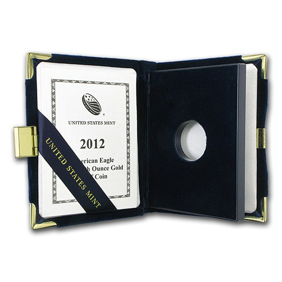 OGP Box & COA - 2012 1/10 oz Proof Gold American Eagle