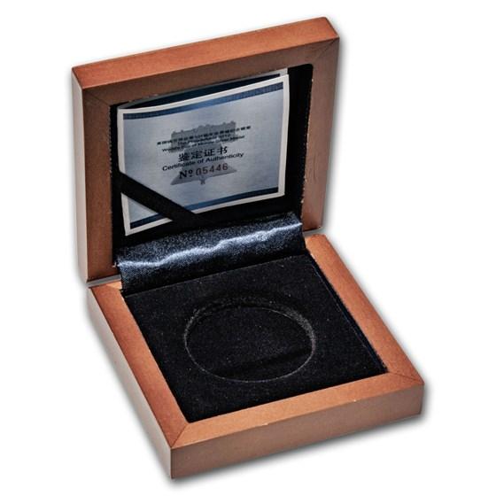 OGP Box & COA - 2012 1 oz Silver Panda ANA Philadelphia Coin Show
