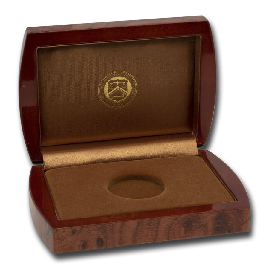 OGP Box & COA-2012 First Spouse Caroline Harrison BU Gold (Empty)