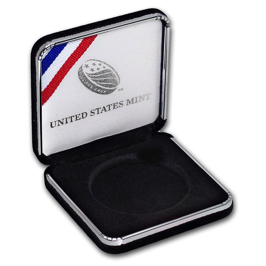 OGP Box & COA - 2012-W Infantry Soldier $1 Silver Commem PF