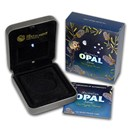 OGP Box & COA - 2013 Perth Pygmy Possum 1 oz Silver Coin (Opal)