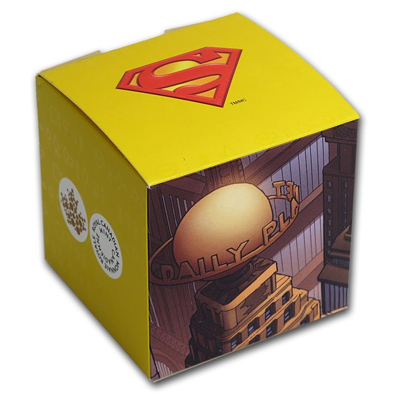 OGP Box & COA - 2013 Silver 75th Anniversary of Superman
