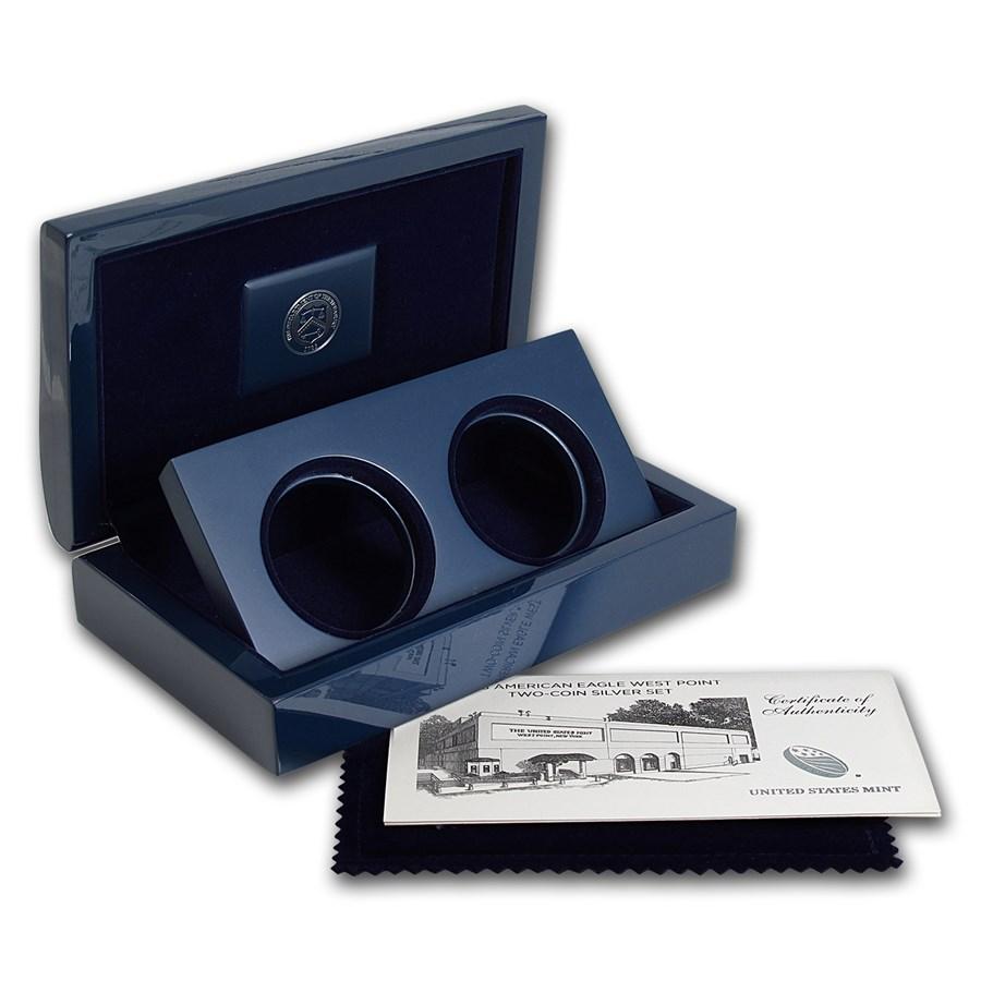 OGP Box & COA - 2013 U.S. Mint 2-Coin West Point Eagle PF Set