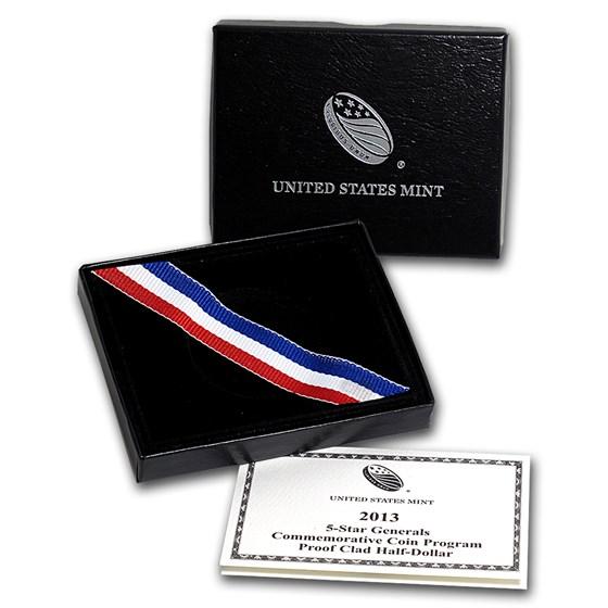 OGP Box & COA - 2013 U.S. Mint 5 Star General Clad Proof Coin