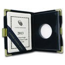OGP Box & COA - 2013 (W) 1/2 oz Proof Gold American Eagle