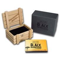OGP Box & COA - 2014 Niue 1 oz Silver Black Rhinoceros Proof