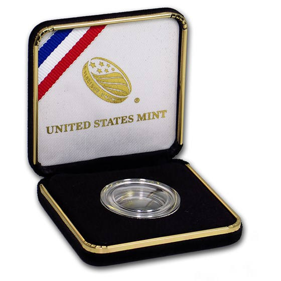 OGP Box & COA - 2014 U.S. Mint Baseball Hall of Fame Gold PF $5