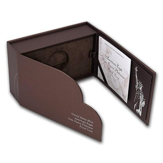 OGP Box & COA - 2015 1 oz Proof Platinum American Eagle