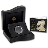 OGP Box & COA - 2016 Walking Liberty Half Centennial Gold (Empty)