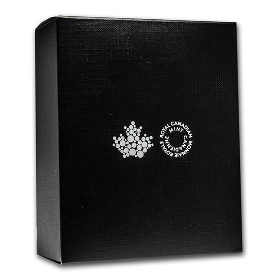 OGP Box & COA - 2018 Canadian Silver PF/Reverse PF Maple Set