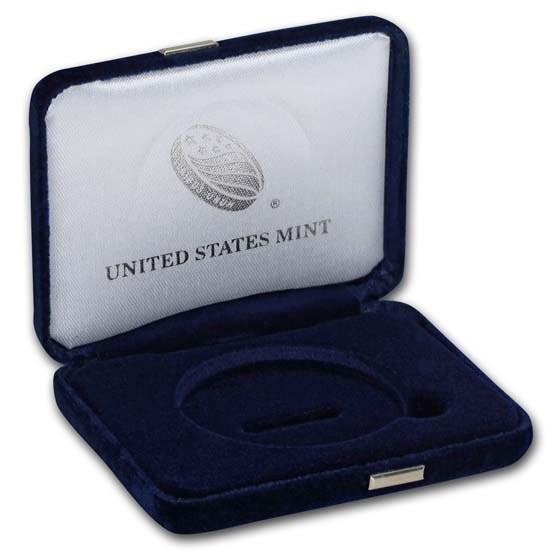 OGP Box & COA - 2018-S Silver American Eagle Proof