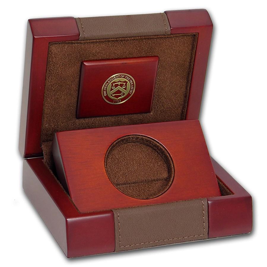 OGP Box & COA - 2018-W Proof 1 oz Gold Buffalo Coin (Empty)