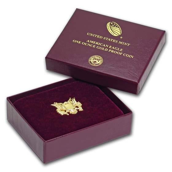 OGP Box & COA - 2019 1 oz Proof Gold American Eagle