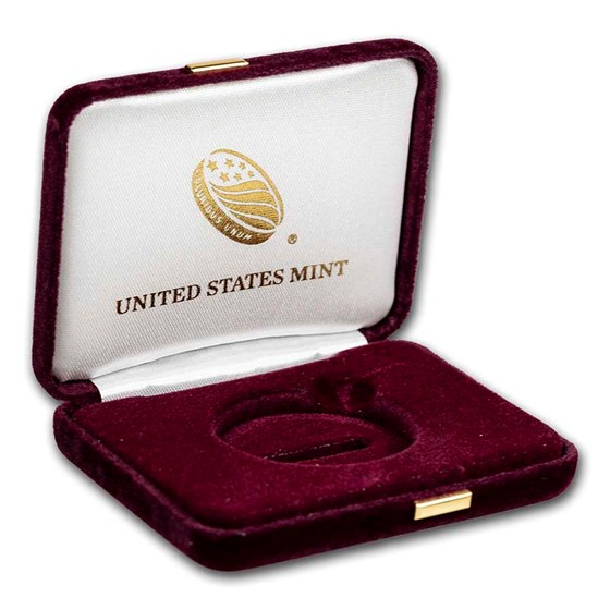 OGP Box & COA - 2021-W 1 oz Gold American Eagle Proof (Empty)